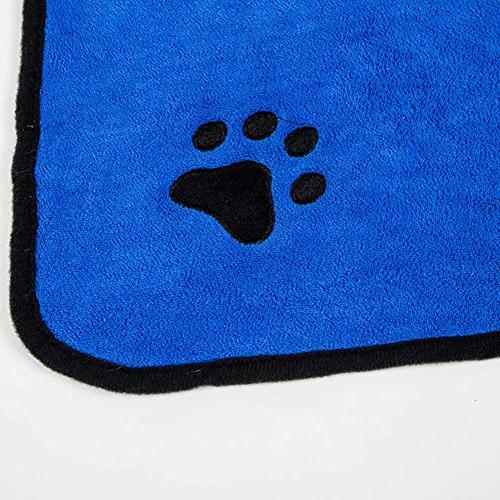 Thirsty Emission Tomography Absorbent Pet Dog - Warm Dog Absorbent Pet Drying Paw Cat Pet Bath Favored