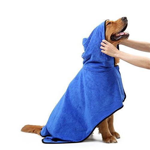 Thirsty Tomography Absorbent Pet Towel Dog - Warm Dog Clothes Pet Towel Paw Bath Favored - 1PCs