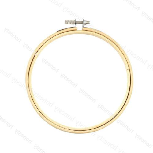 Wooden Cross Embroidery Hoop Ring Sewing 8-33cm