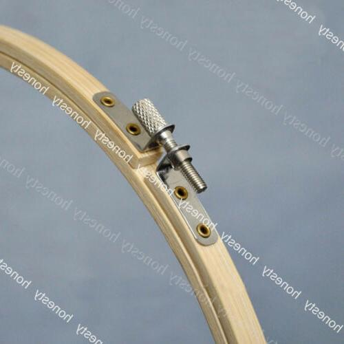 Wooden Machine Embroidery Hoop Bamboo Sewing 8-33cm