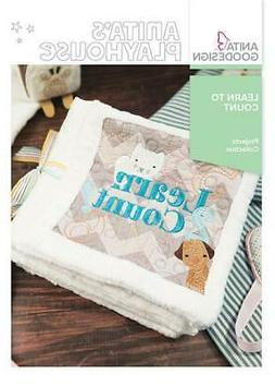 Learn to Count Anita Goodesign Embroidery Machine Design CD