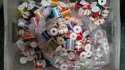 Lot of 60 Spools Polyester Embroidery Machine Thread 40WT ..