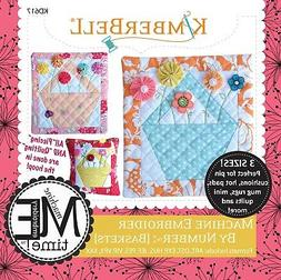 MACHINE EMBROIDER BY NUMBER: BASKET MACHINE EMBROIDERY CD, F