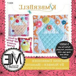 Machine Embroider By Number: Baskets Machine Embroidery CD,