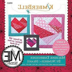 MACHINE EMBROIDER BY NUMBER HEART MACHINE EMBROIDERY CD, Fro