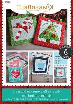 MACHINE EMBROIDER BY NUMBER WINTER COLLECTION EMBROIDERY CD,