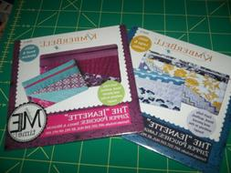 Kimberbell Designs The Jeanette Zipper Pouches Large and Jum