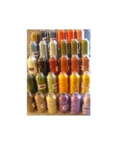 Machine Embroidery Thread X-Lg 6000 Yard Cones Rayon #40 Set