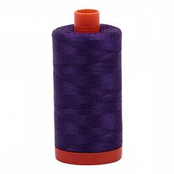 Aurifil Mako Cotton Thread Solid 50wt 1422yds Medium Purple