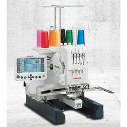 Janome MB-4S Commercial 4 Needle Embroidery Machine + Hat Ho