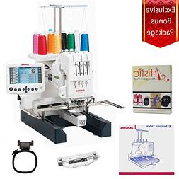 Janome MB-4S Four Needle Embroidery Machine with Exclusive B