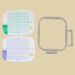 Medium Embroidery Hoop for Brother PE770 PE700 PE700II Machi