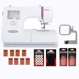 Janome Memory Craft 350E Embroidery Machine w/13 Piece Bonus