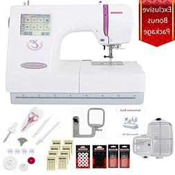 Janome Memory Craft 350E Embroidery Machine w/13 Piece Bonus