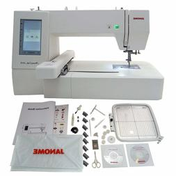 Janome Memory Craft 400E Embroidery Machine with Extra Hoops