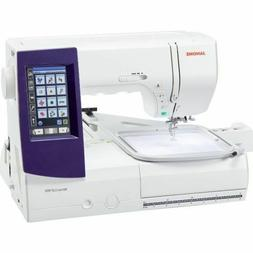 Janome Memory Craft 9850 Sewing and Embroidery Machine New