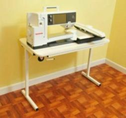 model gidget 2 white sewing machine table