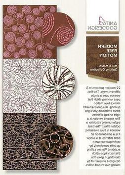Modern Free Motion Anita Goodesign Embroidery Machine Design