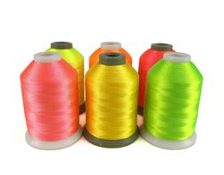 Simthread Neon Colors Polyester Embroidery Machine Thread 6