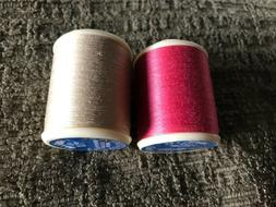 New DMC 100% Cotton Machine Embroidery Thread Colors: 644 an
