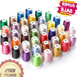 NEW brothread 40 Brother Colors Polyester hine Embroidery Th
