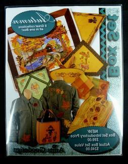 New Anita Goodesign Embroidery Machine Design CD Autumn Box