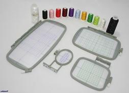 NEW EMBROIDERY MACHINE HOOPS FOR BROTHER PE 770 PE 780D 750
