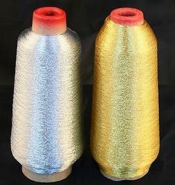 New ThreadNanny Gold & Silver Metallic Machine Embroidery Th