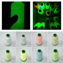 New Hand DIY Crafts Luminous Thread Glow In The Dark Sewing