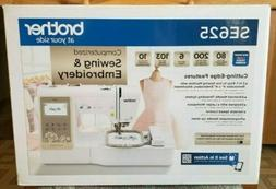 NEW IN-BOX Brother SE625 Computerized Sewing Embroidery Mach