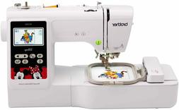 New Brother PE550D Embroidery Machine, 125 Built-in Designs,