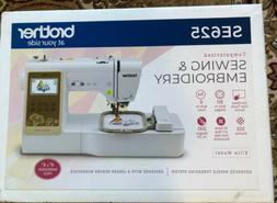 New Brother SE625 Computerized Sewing and Embroidery Machine