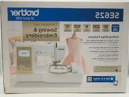 Brother SE625 Computerized Sewing and Embroidery Machine
