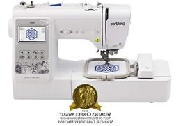 new sealed se600 sewing and embroidery machine
