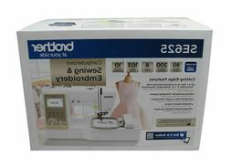 Brother SE625 Computerized Sewing and Embroidery Machine SAM