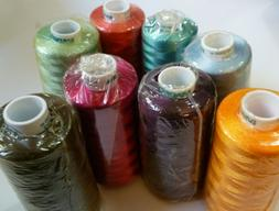 New Wrapped Madeira Machine Embroidery Thread Spools Many Co