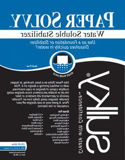 Paper Solvy Water Soluble Stabilizer-8-1/2X11 12/Pkg