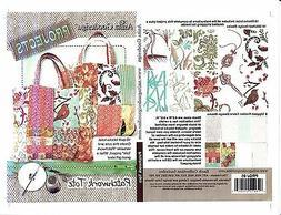 Anita Goodesign Patchwork Tote Embroidery Machine Design CD