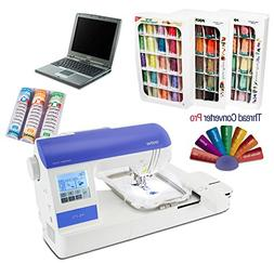 Brother PE-770 Embroidery Machine I-WANT-IT-ALL PACKAGE