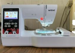 "BROTHER PE550D 4"" x 4"" Embroidery Machine with Built-In"