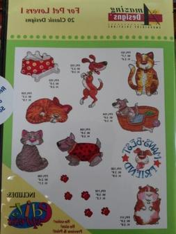 Amazing Designs For Pet Lovers I Machine Embroidery Designs