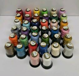 Polyester Embroidery Machine Thread Set  500 Meters Each