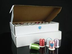 Polyester Embroidery Machine Thread Set  By Simthread +Free