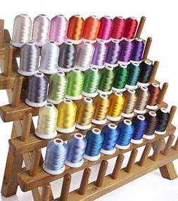 Sinbel 40 Colors Polyester Embroidery Thread 1000Meters/1100
