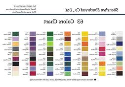 Sinbel Polyester Embroidery Thread 6 Optionally Colors From
