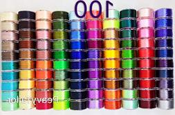 PeavyTailor 100 Color Prewound Embroidery Bobbins Embroidery