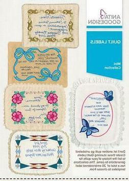 Quilt Labels Anita Goodesign Embroidery Machine Design CD