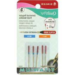 QuiltPro Universal Regular Point Machine Needles-Sizes 11/80