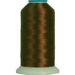 Threadart Rayon Machine Embroidery Thread - No. 425 - Dk Bro