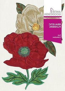 Realistic Flowers Anita Goodesign Embroidery Machine Design
